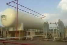 COMMERCIAL GAS TANK