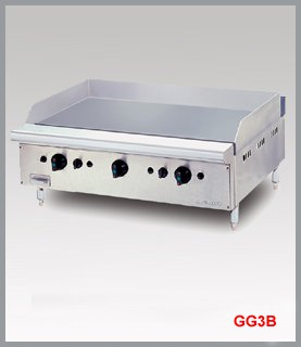 GAS GRIDDLE WITH TABLE TOP GG3B
